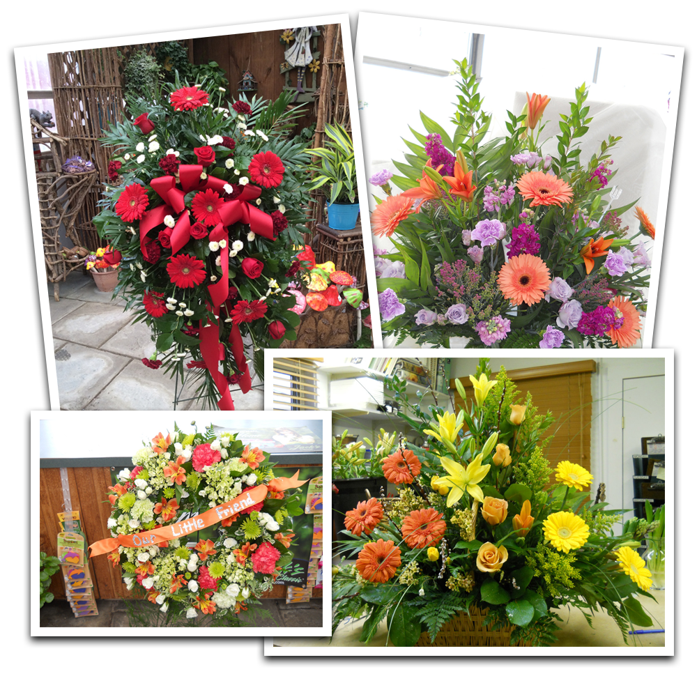 Funeral Flower Arrangements Ross Plants Flowers Allentown Pa