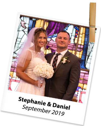 Stephanie and Daniel