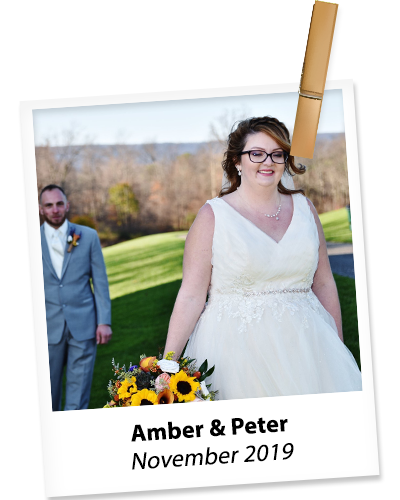 amber and peter