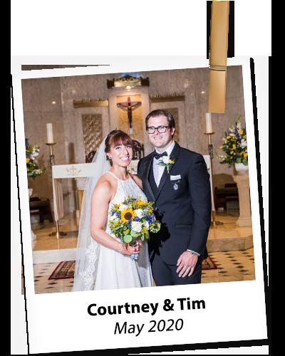 Courtney and Tim